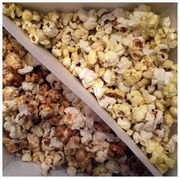 映画館ポップコーン(塩とキャラメルのハーフ&ハーフ)