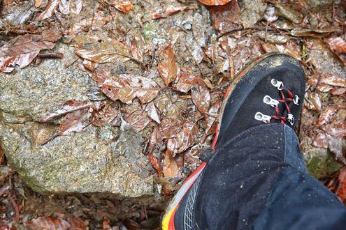 新しい登山靴