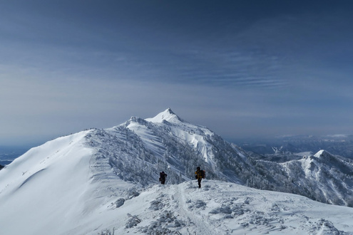 剣ヶ峰から武尊山まで