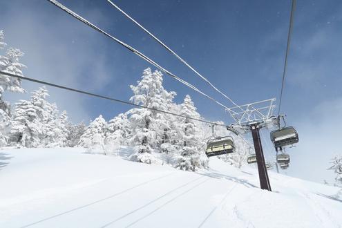 川場スキー場 クリスタルエクスプレス