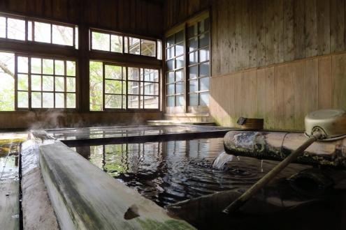 三斗小屋温泉 大黒屋の浴室