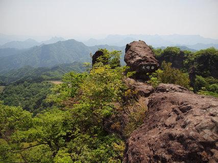 妙義山胎内くぐり岩から見る絶景