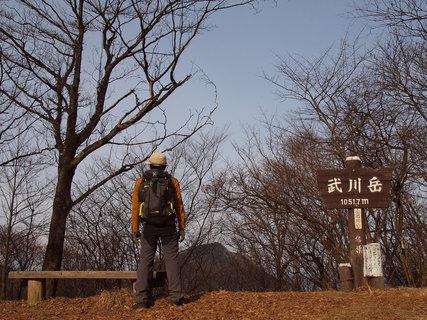 武川岳山頂