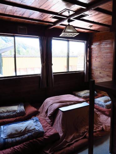 赤岳鉱泉の個室